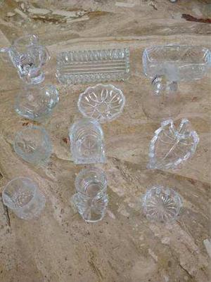 Figuras de cristal tallada