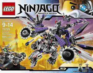 Lego ninjago 70725 el dragón mecánico nindroide 691 pzs