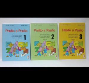 Libro pasito a pasito 1er 2do y 3er nivel