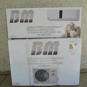 Aire acondicionado split bm 12000btu 220v