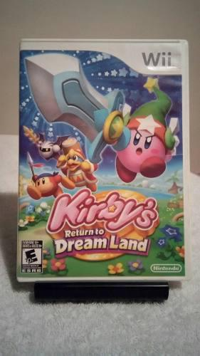 Juego nintendo wii kirby return to dream land completo