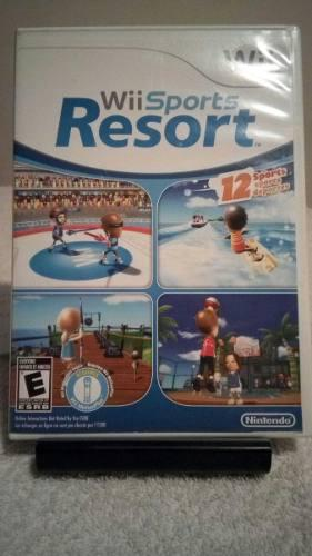 Juego nintendo wii wii sports resort completo impecable