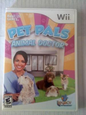 Juego original de wii pet pals animal doctor