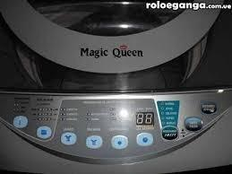 Lavadora magic queen 11 kilos automatica tarjeta mala
