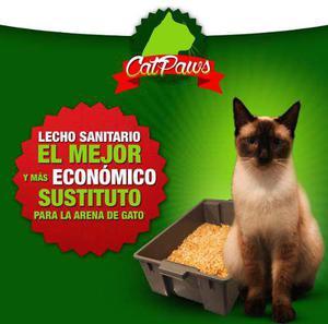 Lecho sanitario para gatos