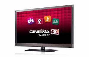 Lg cinema 3d 42 smart tv 1080p wi-fi con 4 lentes 3d