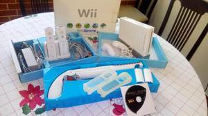 Nintendo wii + accesorios especiales + juego original