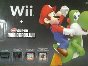 Nintendo wii super mario bros consola d juego original black