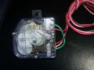 Reloj de lavadora 4 cables con puente oreja plana