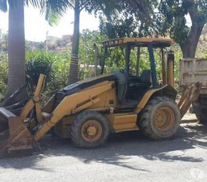 Retro excavadora caterpillar 4x4 2003 nacionalizada