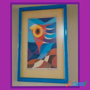 2 cuadros de felipe herrera (pintor larense)