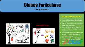 Clases particulares