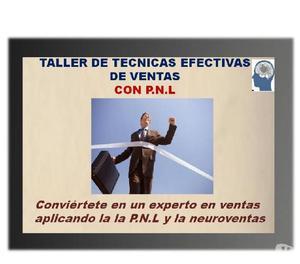 Taller de técnicas efectivas de ventas con p.n.l