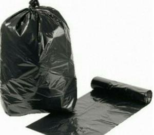 Bolsas de basura de 40 kilos o 200 lts por paquetes de 100