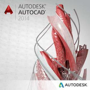 Autodesk autocad 2014 original + vídeo tutorial