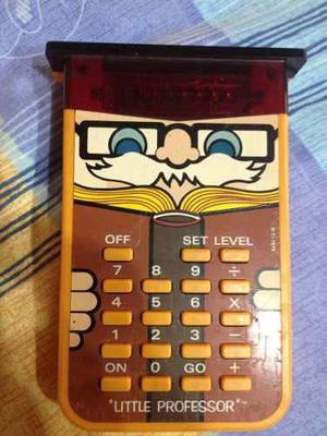 Calculadora de niños little professor de coleccion