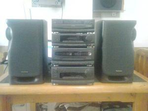 Equipo de sonido completo technics