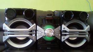 Equipo de sonido panasonic sc akx58 de 16500 w