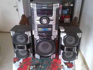 Equipo de sonido sony genezi mhc-gt44