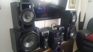 Equipo de sonido sony genezi mhc-gtr77