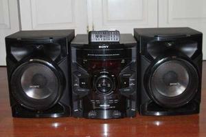 Equipo de sonido sony genezi modelo sony mhc-gtr333