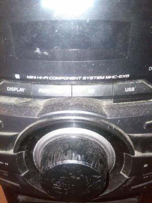 Equipo de sonido sony mhc-ex6 para reparar o repuesto