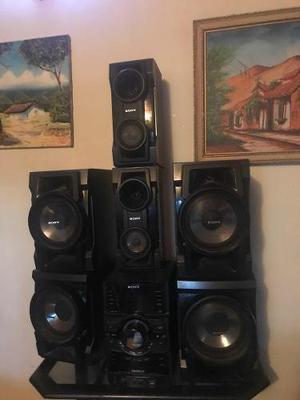 Equipo de sonido sony mhc-gtr 77