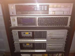 Equipo de sonido technics y cornetas pioneer