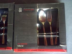 Juego cubiertos cutlery homedesign 16 pz