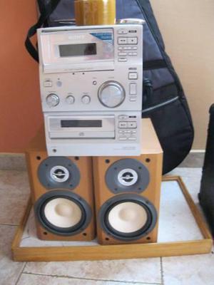 Mini equipo de sonido sony