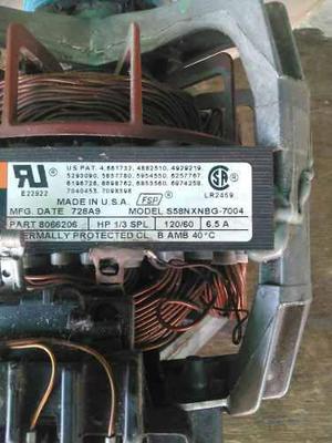 Motor De Secadora Whirlpool Modelo S58nxnbg-7004