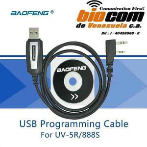 Software + cable baofeng 888s/uv5/uv82 programacion original
