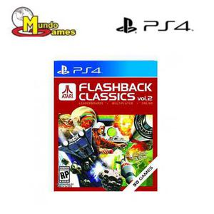 Atari flashback classics juego ps4 nuevo vol 2 mundogames co