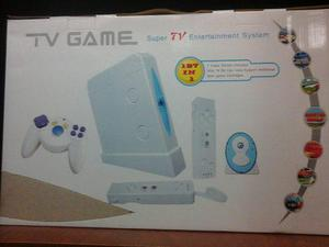 Consola juegos tv game 127 en 1