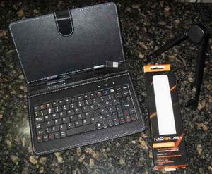 Forro de tablet de 7 pulgadas + base soporte