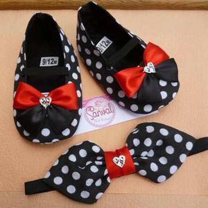 Zapatos para bebes + cintillo grande incluido