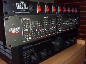Amplificador controladora ecualizador