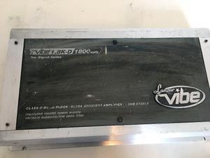 Amplificador planta monoblock lanzar vibe 1.8k-d 1800watts