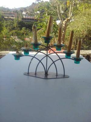 Candelabro de 7 velas