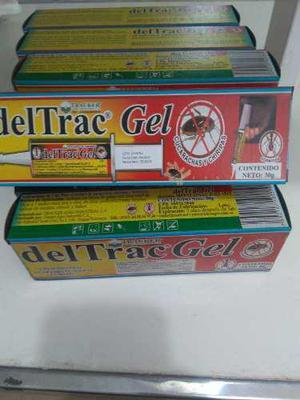 Deltrac gel x 30 grs, contra cucarachas hormigas y chiripas