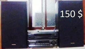 Equipo de sonido modular marca technics
