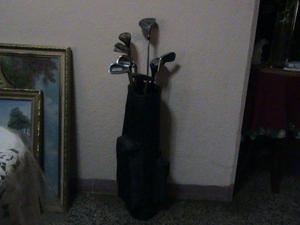 Palos de golf dunlop oferta con estuche o maleta remato