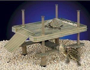 Penn plax plataforma para tortugas, 41x28x40 cms