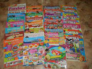 Colección de revistas de repostería y pastelería