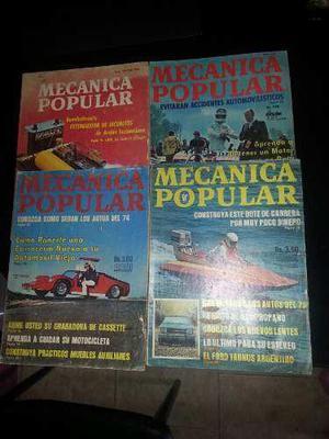 Fabulosas revistas de mecánica popular
