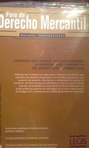 Foro de derecho mercantil (6 revistas)