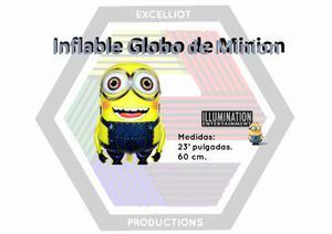 Inflables globos de minion al mayor