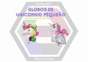 Inflables globos de unicornio pequeño 35cm al mayor