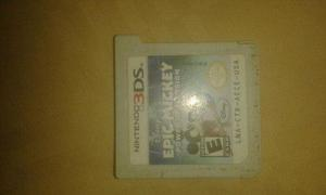 Juego 3ds epic mickey power of ilusion
