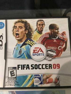 Juegos originales nintendo ds fifa soccer 09